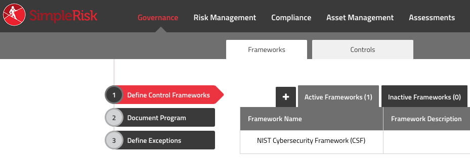 NIST Cybersecurity Framework in Governance